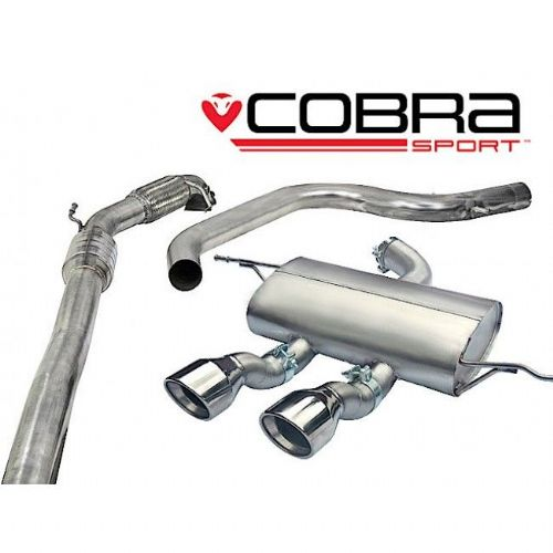 Seat Leon Cupra R Turbo Back Exhaust (Sports Catalyst / Non-Resonated) SE29b